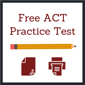 ACT Practice Test - Murrieta Library - January 11th